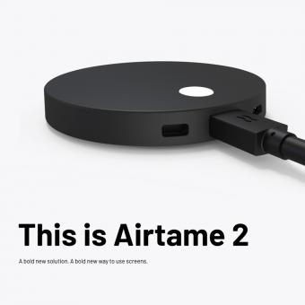 AIRTAME 2 Wireless Presenter - Streaming-Lösung für drahtlose Präsentationen.