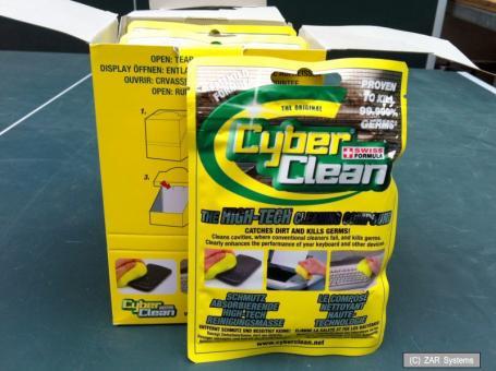 CyberClean Home & Office Reinigung, entfernt Schmutz und Staub, Zip Bag 80gr.