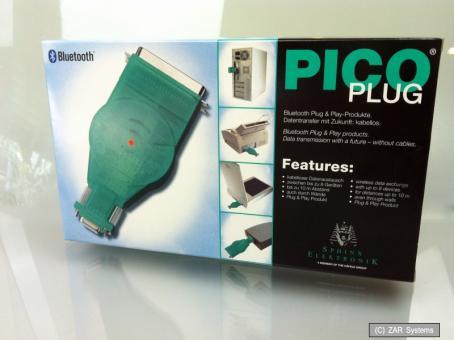 Pico PLUG Bluetooth Adapter Parallel, Seriel für LPT Drucker, Steuerung und Technik